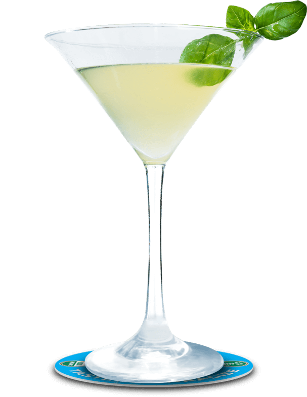 Pineapple Basil Martini