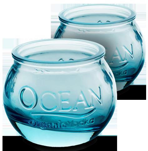 Ocean Vodka Glassware
