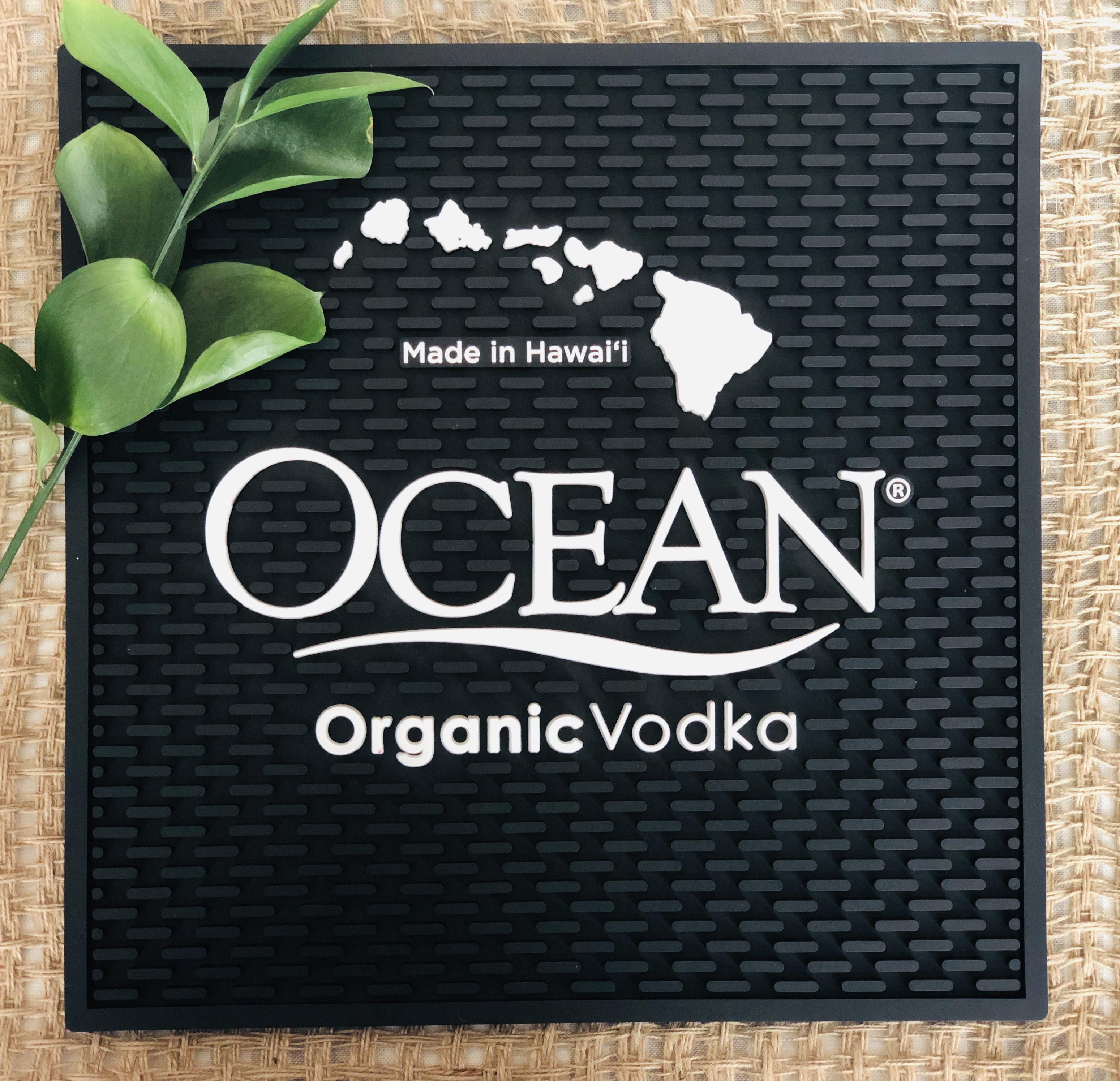 Small Ocean Vodka Bar Mat