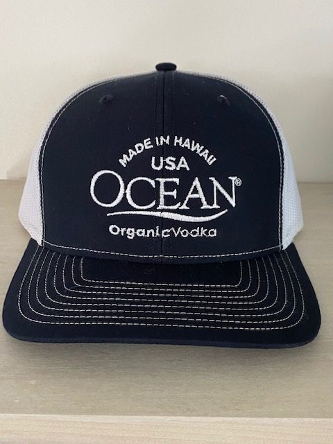 Made In Hawaii USA Navy Trucker Hat