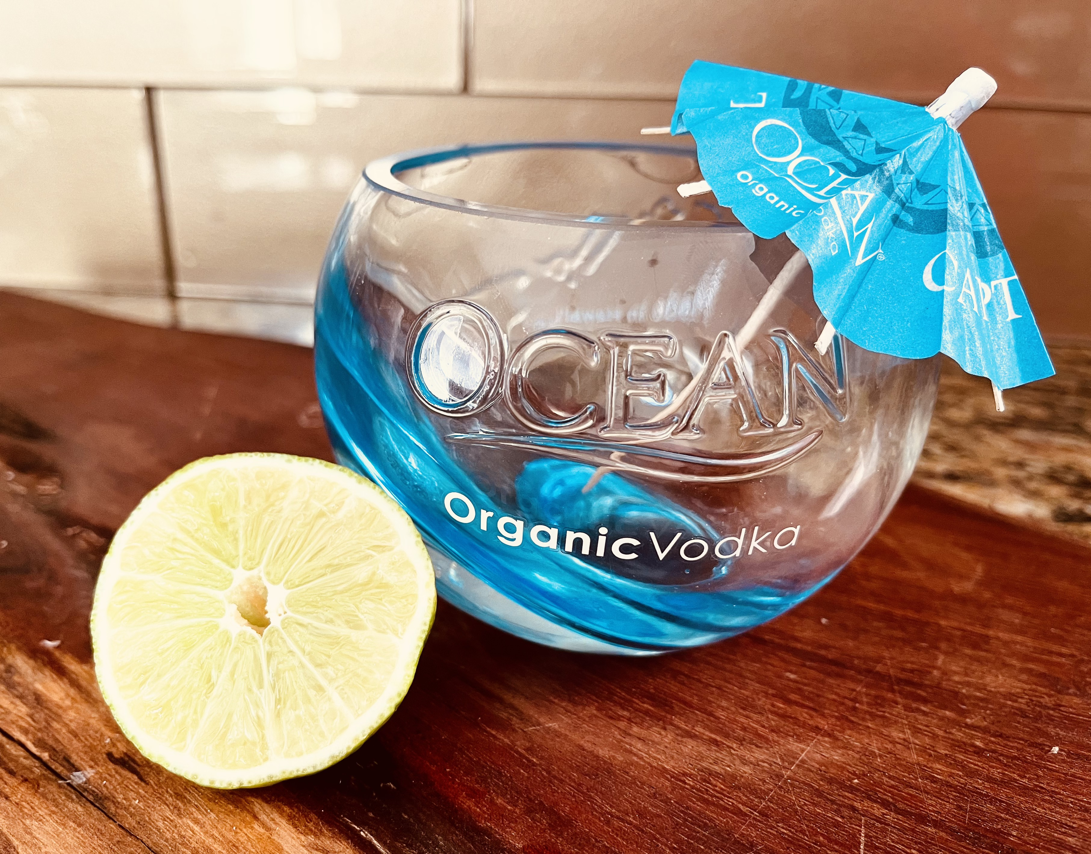 Available for a Limited Time! Hand-cut Ocean Vodka Glassware Set