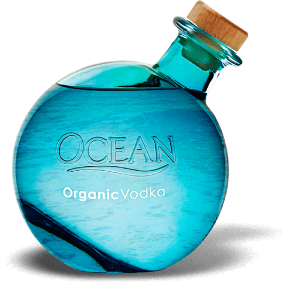 Ocean Vodka Bottle